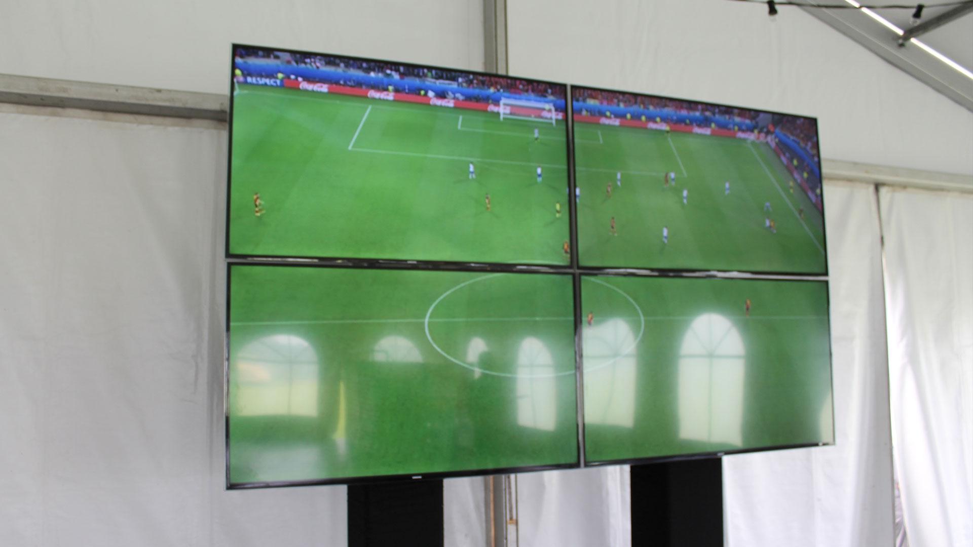 Huren van lcd-schermen, verhuur televisies, plasmaschermen huren