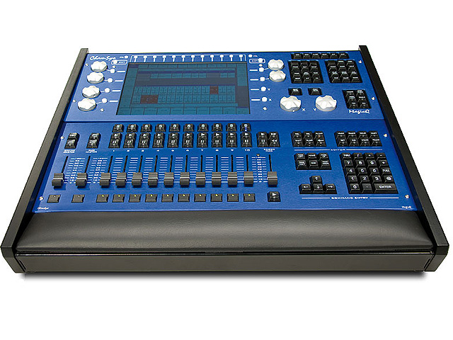 Nu te huur bij The Mix Project : Chamsys MQ 100 Pro + playback wing