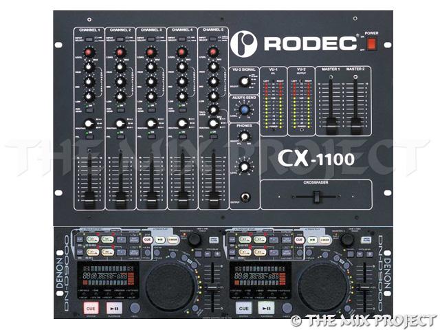Discobar Rodec CX1100 + Denon 9000