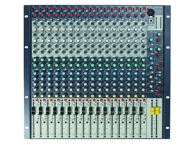 Soundcraft GB2 - 12/2/6 PA mixer tafel