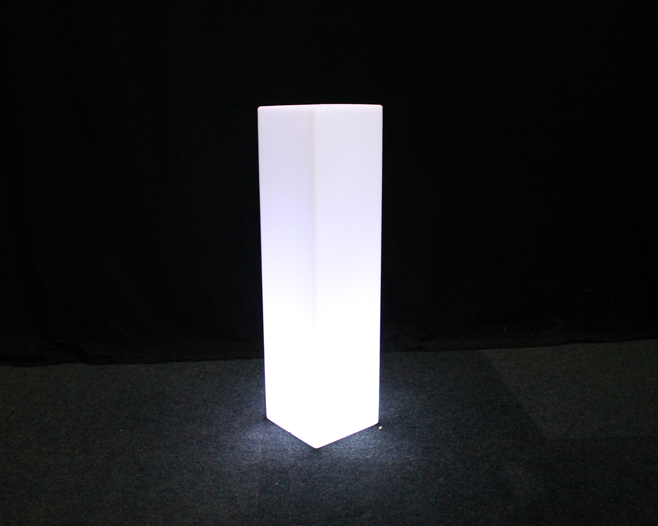 Verlichte LED kubus