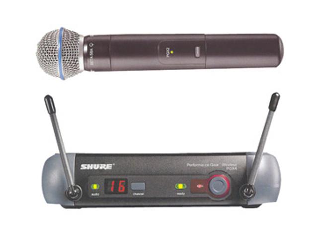 Shure SM 58 Draadloze micro / PGX4E Receiver