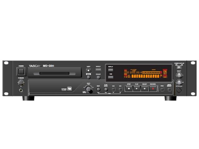 Tascam Minidisc MD-02