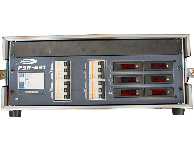 63A Verdeelkast PSA 631 met digitale meters