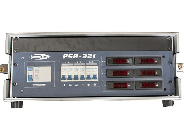 32A Verdeelkast PSA 321 met digitale meters