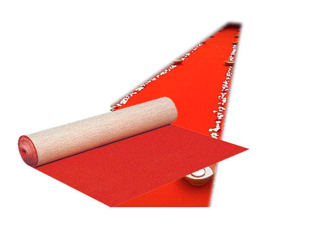 Rode loper 2m00 breedte