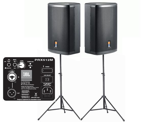 JBL Pro actieve geluidsset PRX 512M