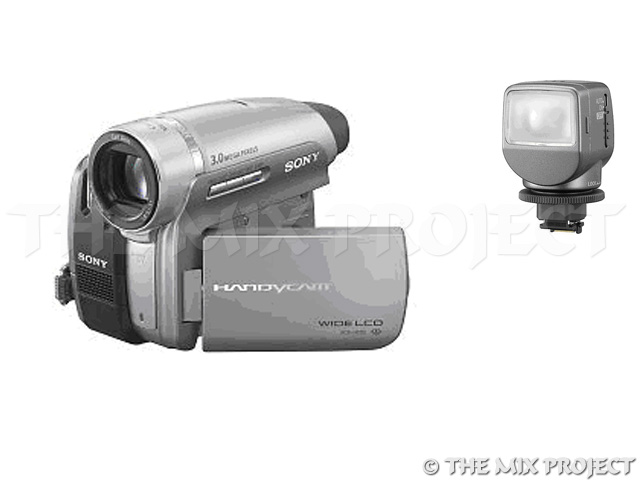 Videocamera Sony - met miniDV tapes