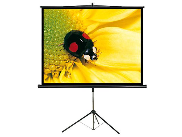 Projectiescherm op voet (2m00 x 1m50)