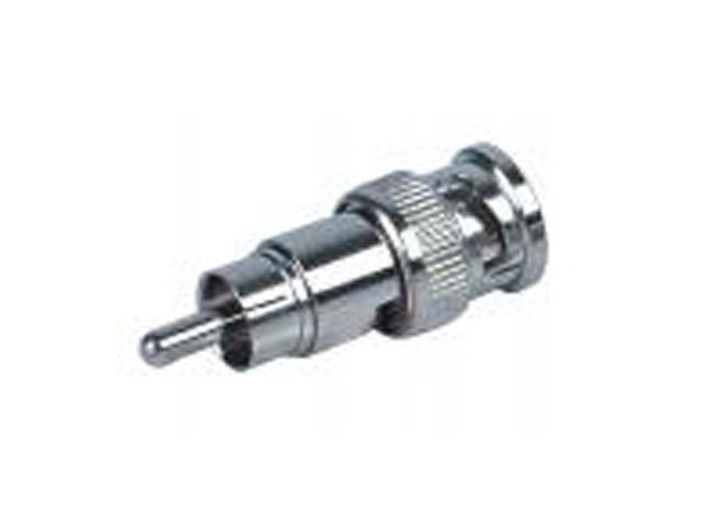 Coax RG06 adaptor Coax female - Composiet male