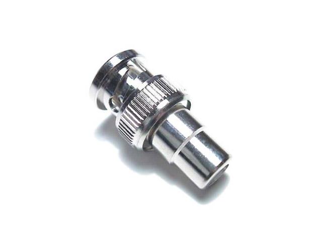 Coax RG59 adaptor Coax male - Composiet female