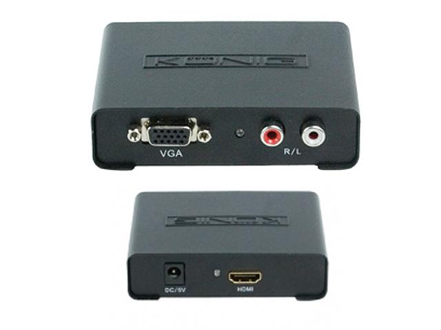 VGA naar HDMI omvormer