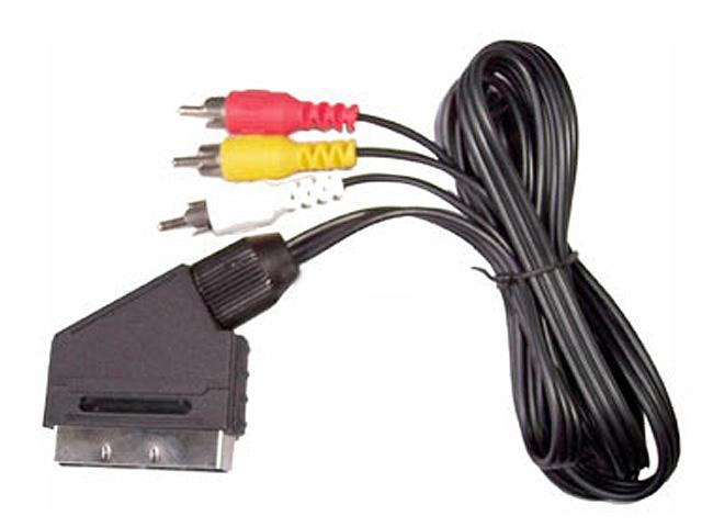 Scart-Composiet kabel 1m50